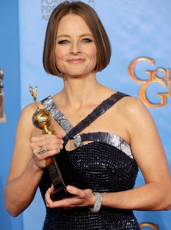 Golden Globes - Jodie Foster