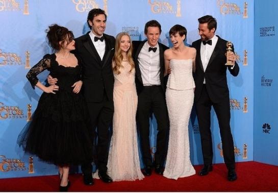 Golden Globes - Les Misérables