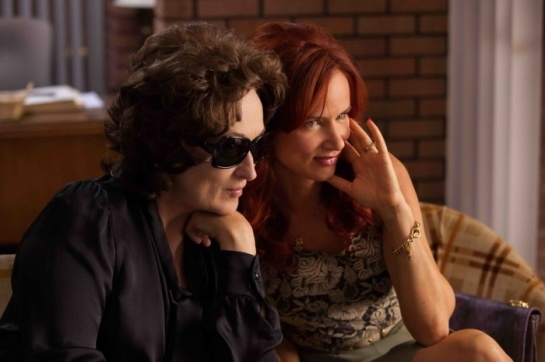 MERYL STREEP and JULIETTE LEWIS star in AUGUST: OSAGE COUNTY