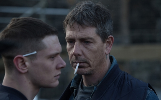 -Jack O Connell playing Eric and Ben Mendelsohn playing Neville