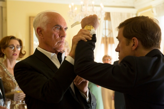 (L-R) TERENCE STAMP and CHRISTOPH WALTZ star in BIG EYES