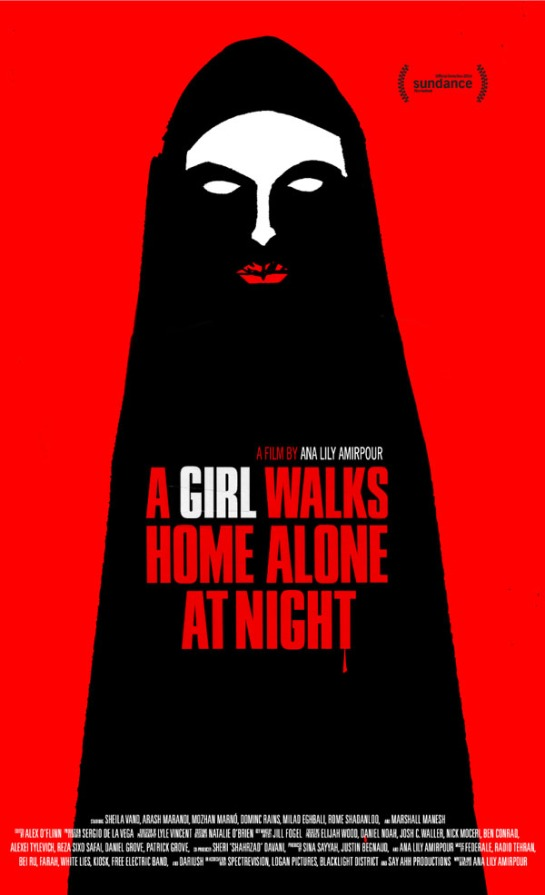 A Girl Walks Home Alone at Night (2014) 01