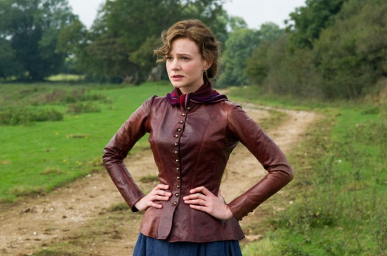 "Carey Mulligan as ""Bathsheba"" in FAR FROM THE MADDING CROWD. Photos by Alex Bailey.  © 2014 Twentieth Century Fox Film Corporation All Rights Reserved"
