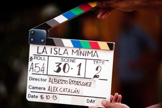 Rodaje de la pelicula Isla Minima de Alberto Rodriguez Produccion Atipica Films