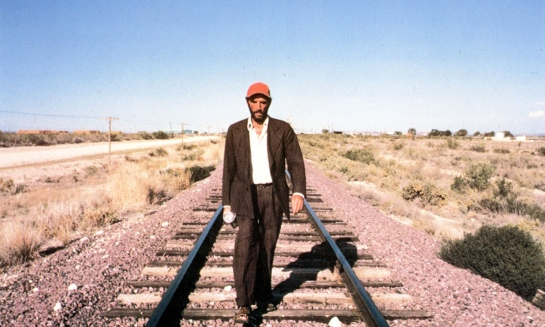 PARIS, TEXAS [Br/FRANCE/GERMANY/US 1984] HARRY DEAN STANTON PICTURE FROM THE RONALD GRANT ARCHIVE A ROAD MOVIES FILM