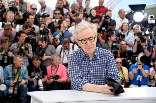 "CANNES, FRANCE - MAY 15: Director Woody Allen attends a photocall for ""Irrational Man"" during the 68th annual Cannes Film Festival on May 15, 2015 in Cannes, France. (Photo by Pascal Le Segretain/Getty Images)"